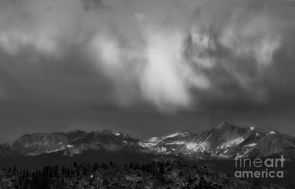 Photograph - Storm Clouds Over Yosemite by Sharon Seaward