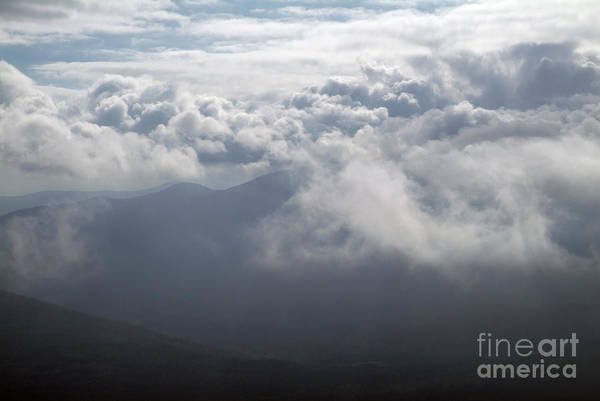 Photograph - Storm Clouds - White Mountains New Hampshire by Erin Paul Donovan