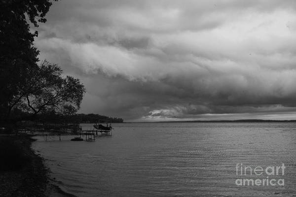Photograph - Storm Clouds by William Norton