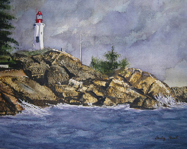 West Point Painting - Storm Coming by Shirley Braithwaite Hunt