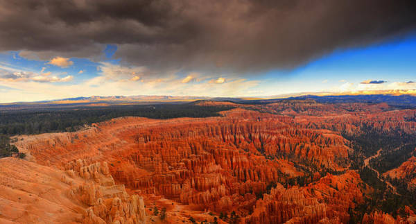 Photograph - Storm Coming To Bryce National Park by Raymond Salani III