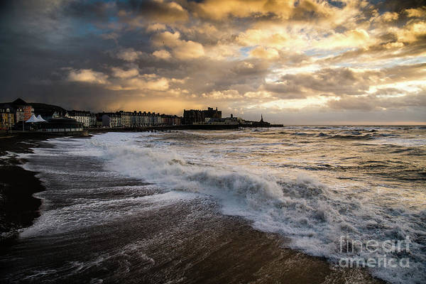 Photograph - Storm Doris In Aberystwyth by Keith Morris