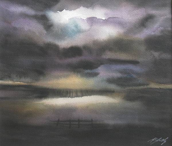 Painting - Storm Field by Alfred Ng