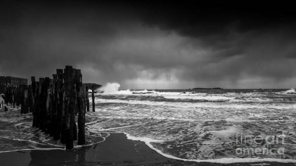 Photograph - Storm In Saint-malo by Dominique Guillaume