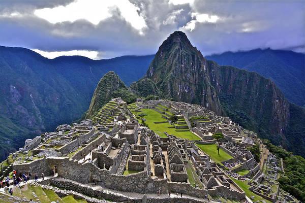 Storm Inbound To Machu Picchu Art Print