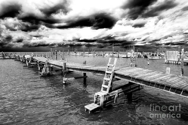 Photograph - Storm Is Brewing At Long Beach Island by John Rizzuto