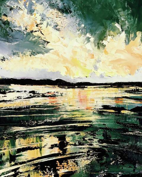 Wall Art - Painting - Storm Light  by Julia S Powell