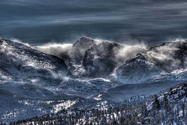 Wall Art - Photograph - Storm On The Divide by G Wigler