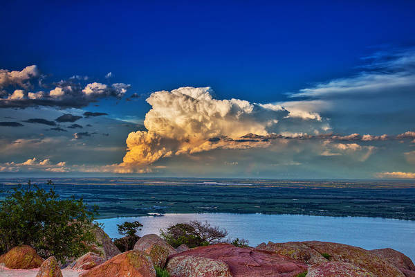 Photograph - Storm On The Horizon by James Menzies