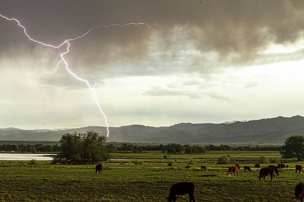 Wall Art - Photograph - Storm On The Range by James BO Insogna
