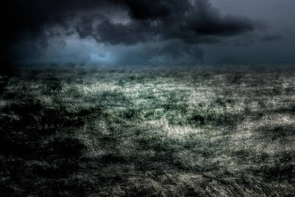 Storm On The Sound Art Print