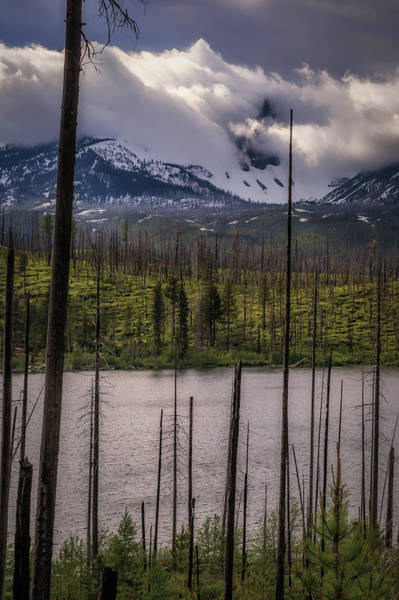 Wall Art - Photograph - Storm On Three Fingered Jack by Cat Connor