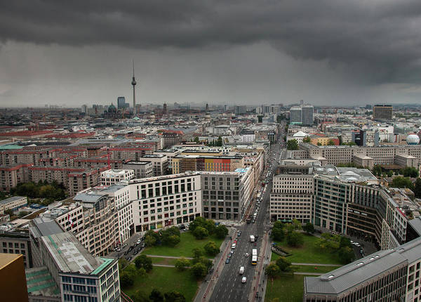 Photograph - Storm Over Berlin by Geoff Smith
