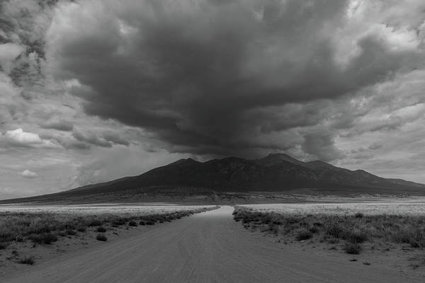 Photograph - Storm Over Blanca Peak by TM Schultze