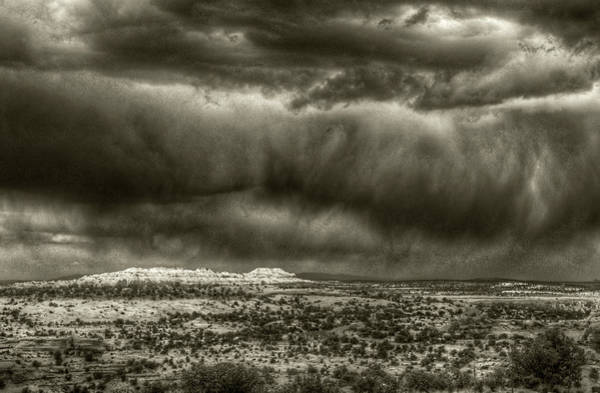 Photograph - Storm Over Canyonlands Np by Michael Kirk