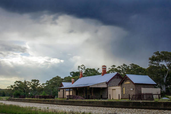 Photograph - Storm Over Capertee Station by Nicholas Blackwell
