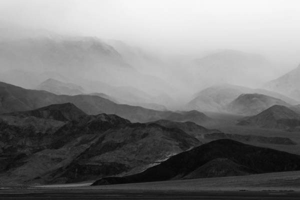 Photograph - Storm Over Death Valley by Mike Irwin