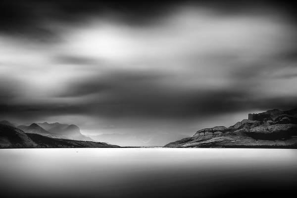 Storm Over Jasper Lake Art Print