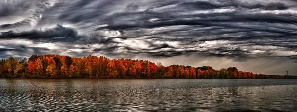 Photograph - Storm Over Lake Nimisila by Dick Pratt
