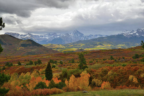 Photograph - Storm Over Mt. Sneffels by Ray Mathis