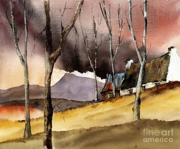 Painting - Storm Over Muckish by Val Byrne
