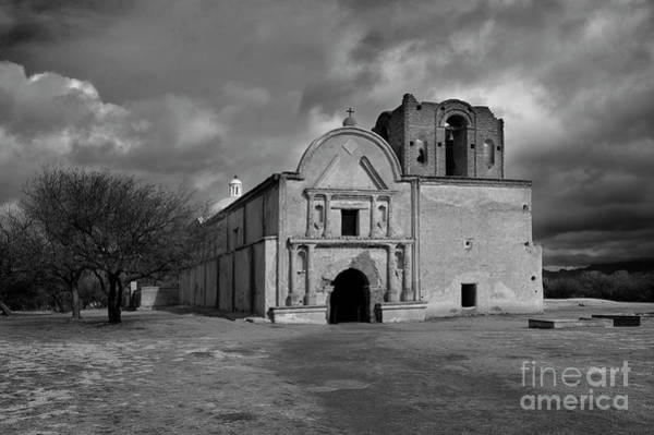 Stormcloud Photograph - Storm Over Tumacacori II by Sandra Bronstein