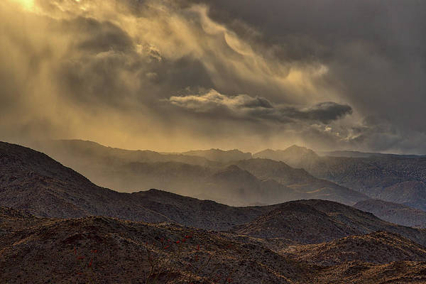Laguna Mountains Photograph - Storm by Peter Tellone