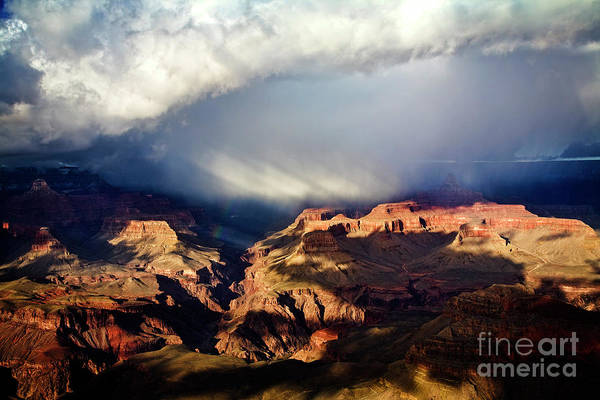 Photograph - Storm Rays by Scott Kemper