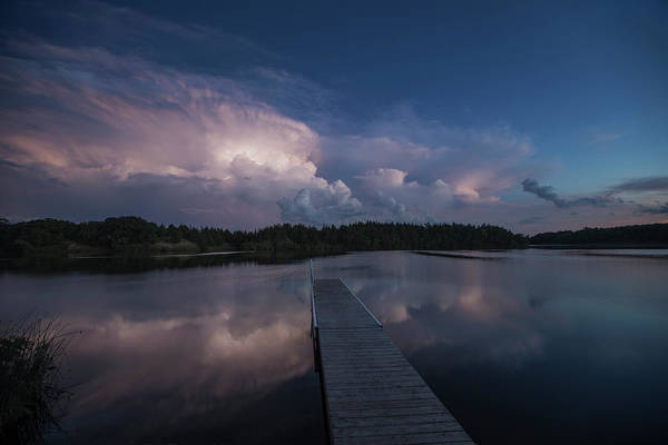 Severe Wall Art - Photograph - Storm Reflection by Aaron J Groen