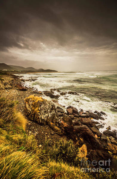 Stone Wall Wall Art - Photograph - Storm Season by Jorgo Photography - Wall Art Gallery