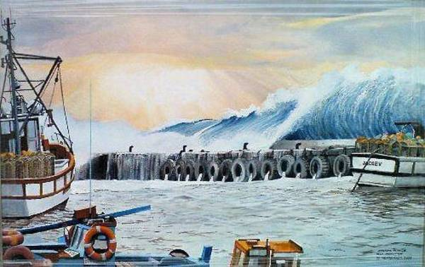 Painting - Storm Surge by Tim Johnson