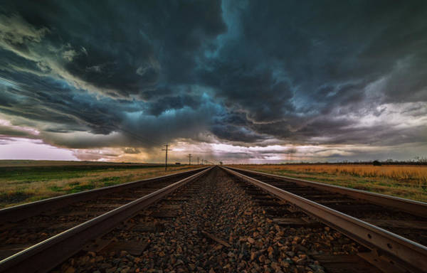 Backroad Wall Art - Photograph - Storm Tracks by Darren  White