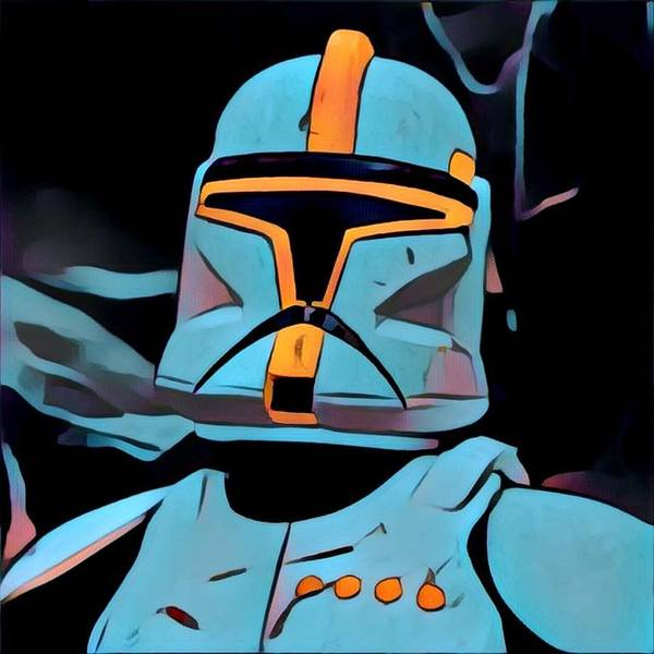 Galactic Empire Photograph - Storm Trooper 17 by Modern Art