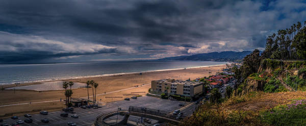 Storm Watch Over Malibu - Panarama  Art Print
