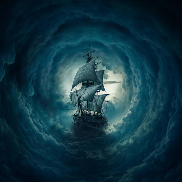 Boats Digital Art - Storm by Zoltan Toth