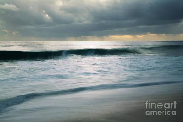 Stormcloud Over Keawaula Beach Art Print