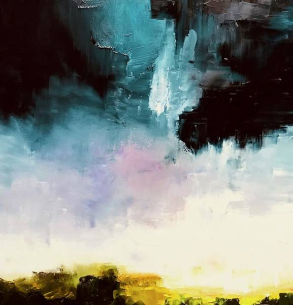 Wall Art - Painting - Stormcloud Study by Julia S Powell