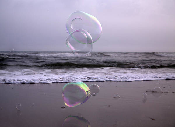 Wall Art - Photograph - Storming Bubbles by Betsy Knapp