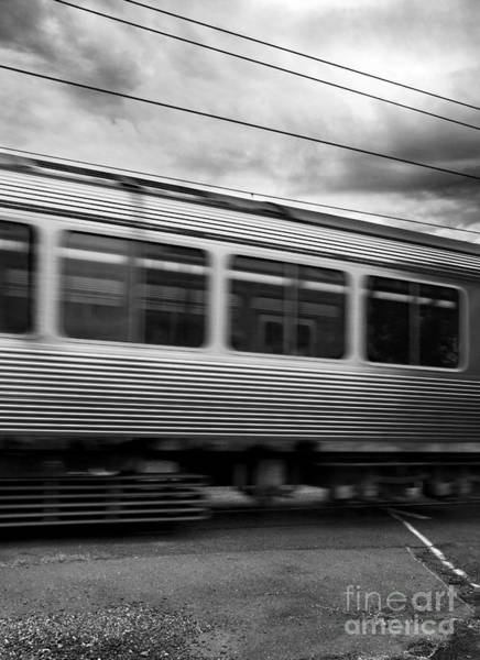 Commute Photograph - Storming Trains by Jorgo Photography - Wall Art Gallery