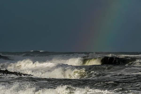 Photograph - Stormlight Seaside Cove by Robert Potts