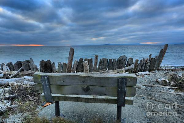 Photograph - Storms Over Goose Spit by Adam Jewell