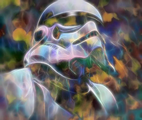 Wall Art - Painting - Stormtrooper by Dan Sproul