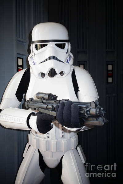 Galactic Empire Photograph - Stormtrooper by Nina Prommer