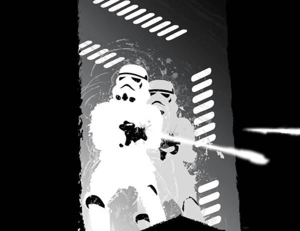Wall Art - Digital Art - Stormtroopers by Nathan Shegrud