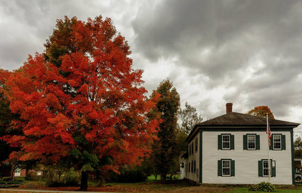 Photograph - Stormy Afternoon In Vermont by Tim Bryan