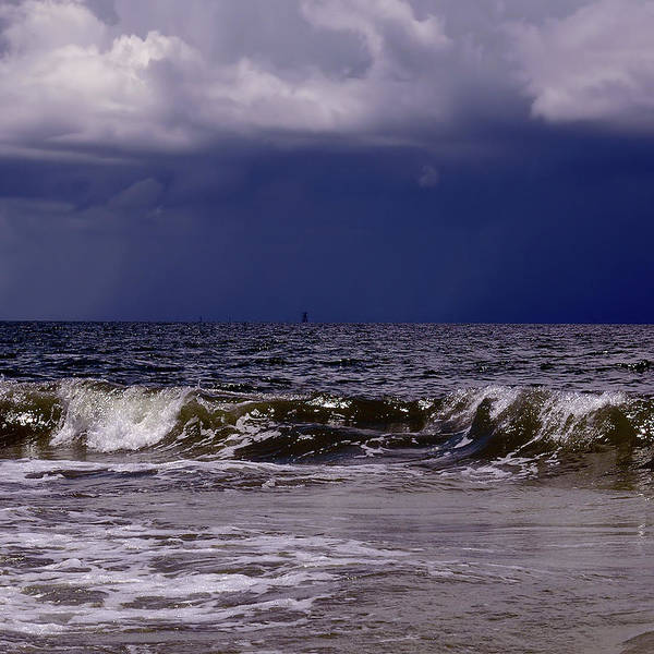 Photograph - Stormy Beach by Carolyn Marshall