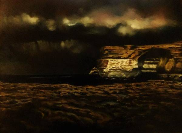 Benny Painting - Stormy by Benny Brimmer