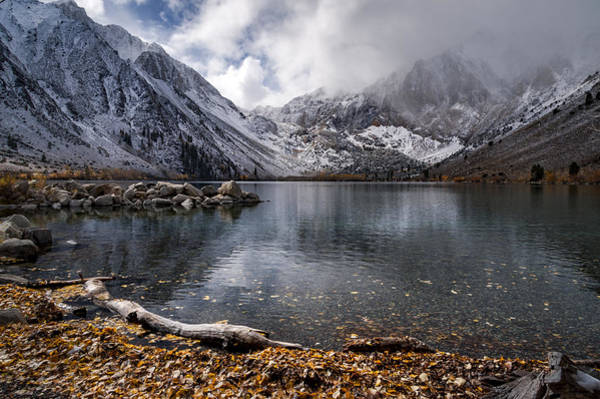 Photograph - Stormy Convict Lake by Cat Connor