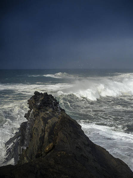 Photograph - Stormy Day At Sunset Bay by Robert Potts