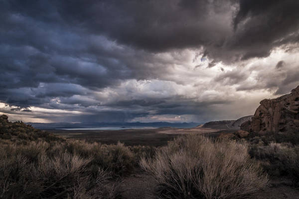 California Adventure Photograph - Stormy Day by Cat Connor